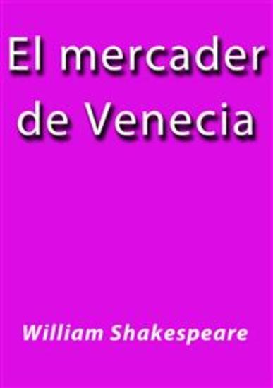 El Mercader de Venecia - cover