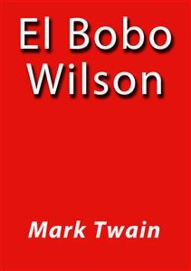 El bobo Wilson - cover