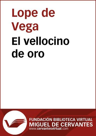 El vellocino de oro - cover