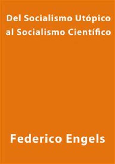 Del socialismo utópico al socialismo científico - cover