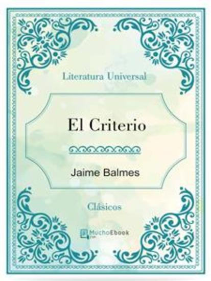 El Criterio - cover