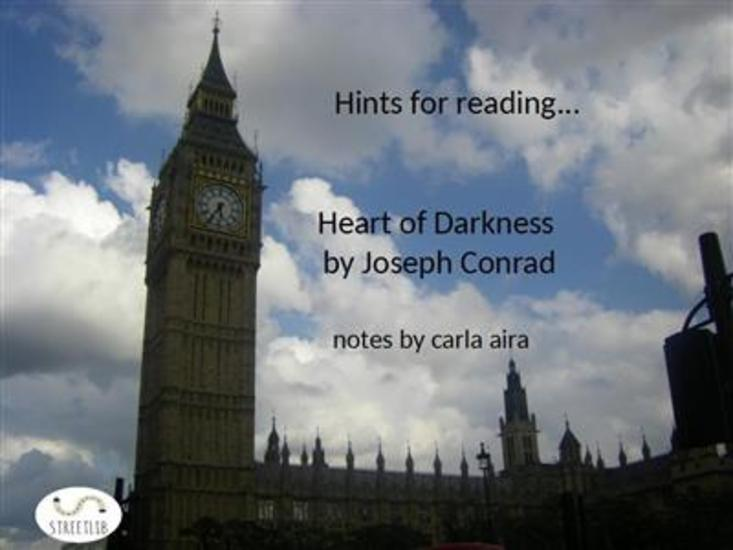 Study Guide Heart of Darkness - notes - cover