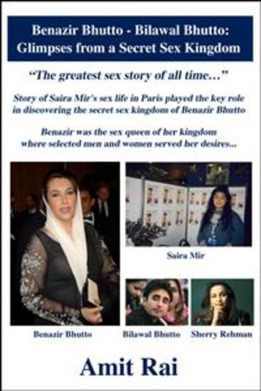 Benazir Bhutto - Bilawal Bhutto: Glimpses from a Secret Sex Kingdom - cover