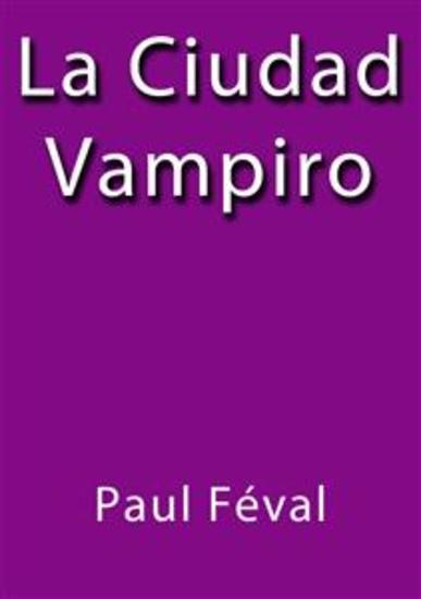 La ciudad vampiro - cover