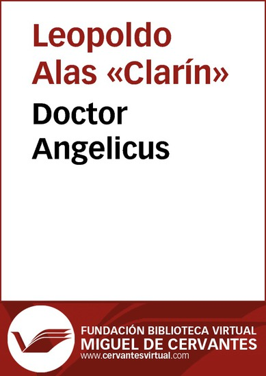 Doctor Angelicus - cover
