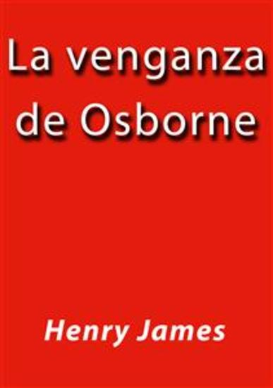 La venganza de Osborne - cover