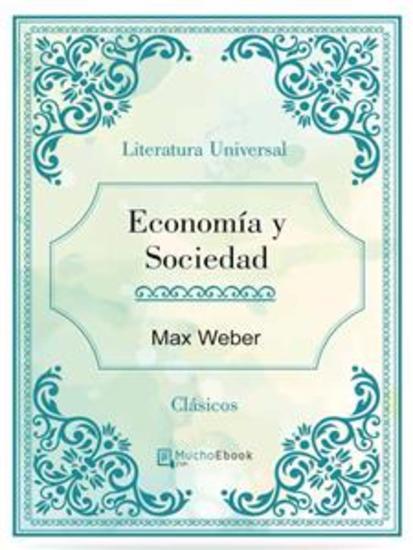 Economía y Sociedad - cover