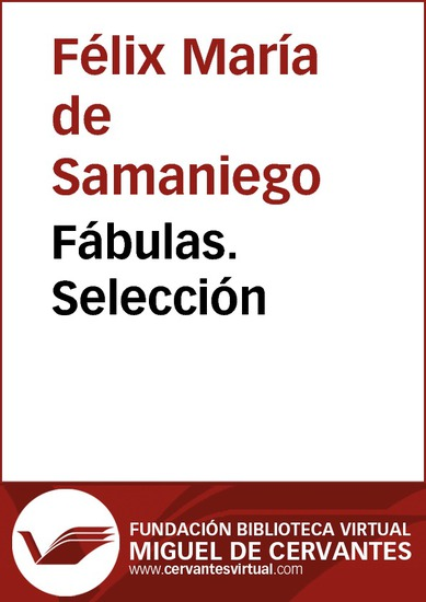 Fábulas Selección - cover