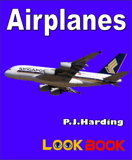 Airplanes - A LOOK BOOK Easy Reader - cover