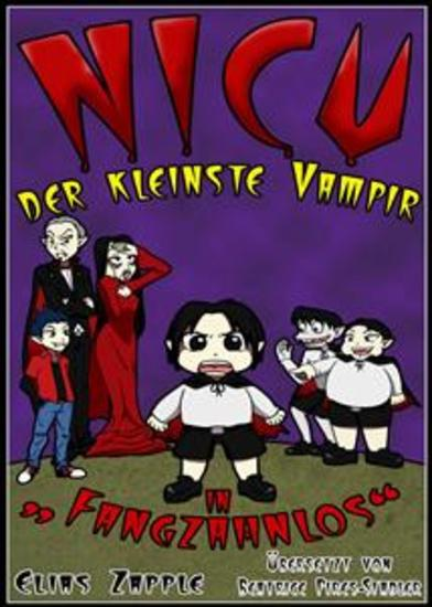 Nicu – Der Kleinste Vampir In 'fangzahnlos' - cover