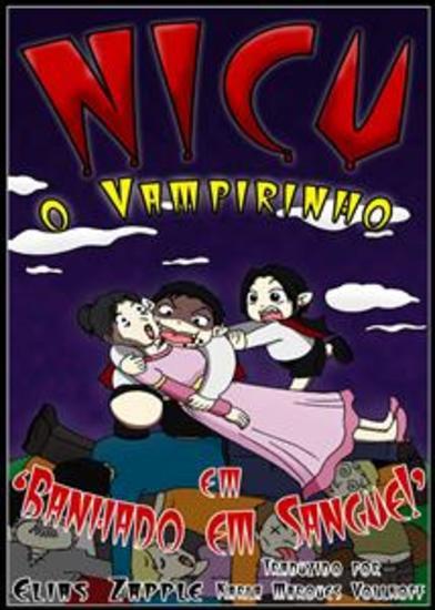 Banhado Em Sangue! (Nicu O Vampirinho #3) - cover