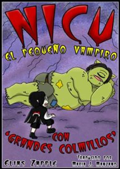 """Nicu - El Pequeño Vampiro Con """"grandes Colmillos"""" - cover"""