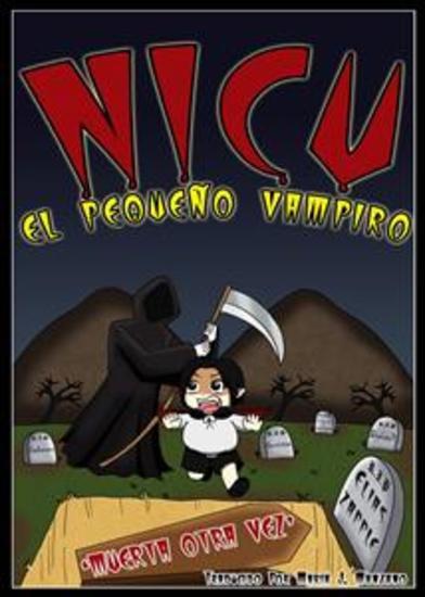 Nicu - El Pequeño Vampiro: Muerta Otra Vez - cover