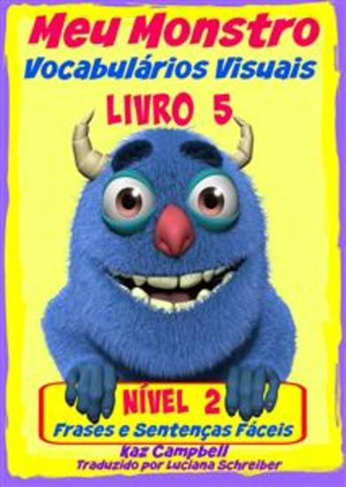 Meu Monstro - Vocabulários Visuais - Nível 2 - Livro 5 - cover