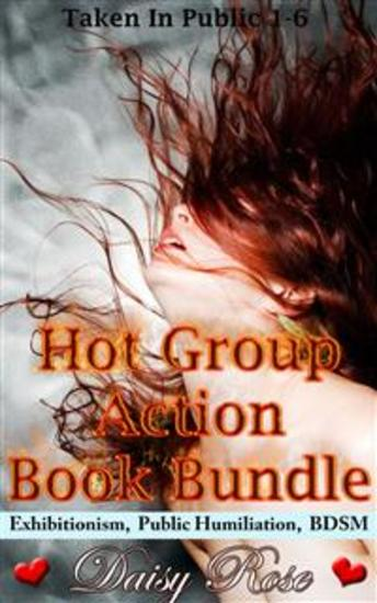 Hot Group Action Book Bundle - Books 1 - 6 of 'Stripped Pumped Milked' - cover