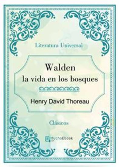 Walden la vida en los bosques - cover