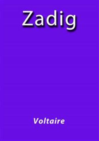 Zadig - cover