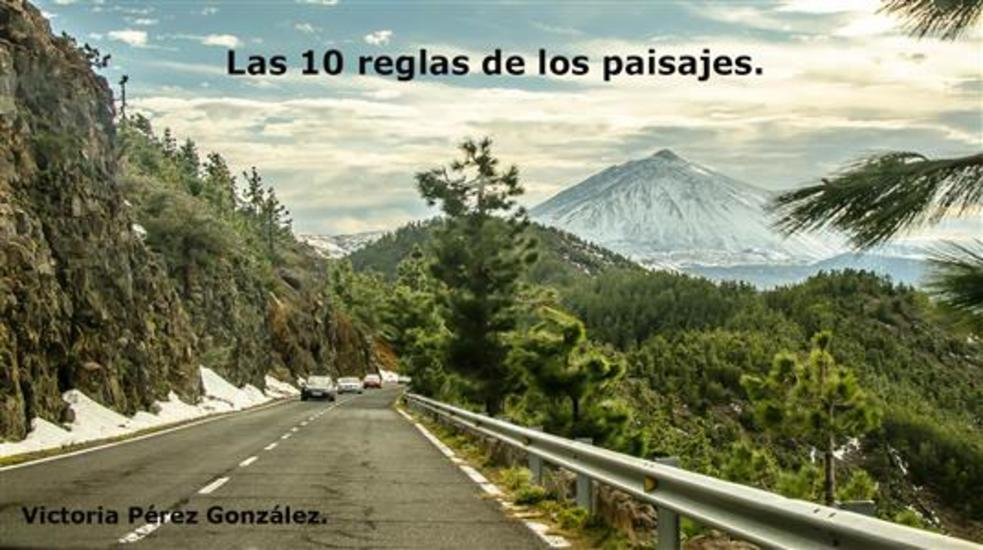Las diez reglas de los paisajes - cover