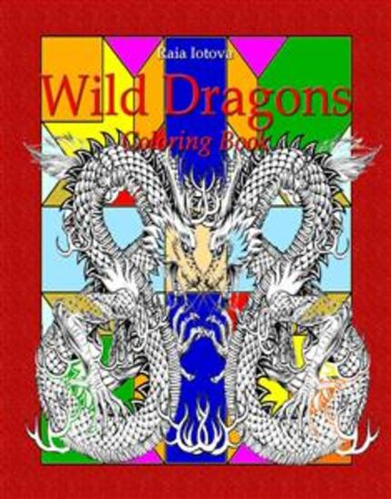 Wild Dragons: Coloring Book - cover