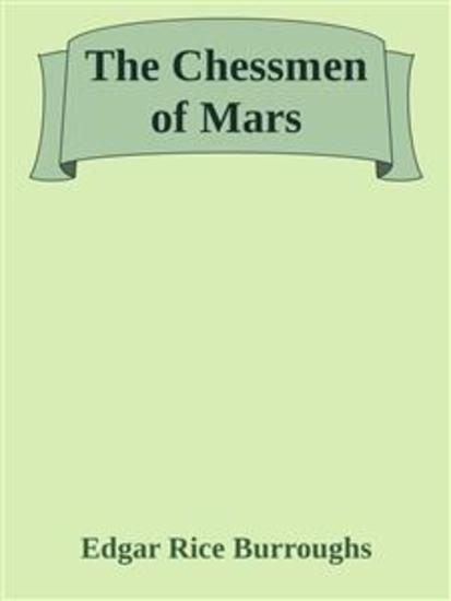 The Chessmen of Mars - cover