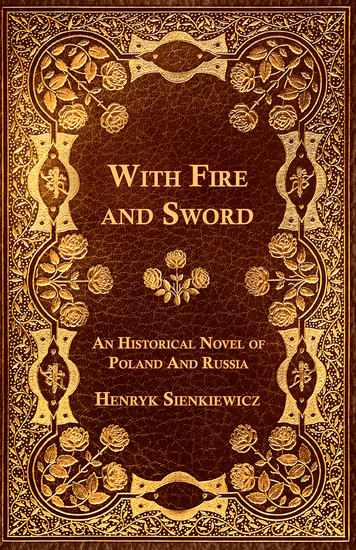 With Fire and Sword - An Historical Novel of Poland and Russia - cover