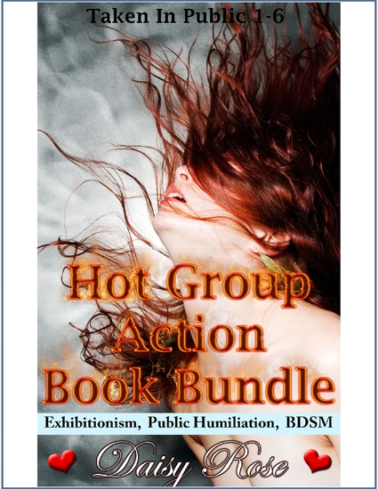 Hot Group Action Book Bundle - cover