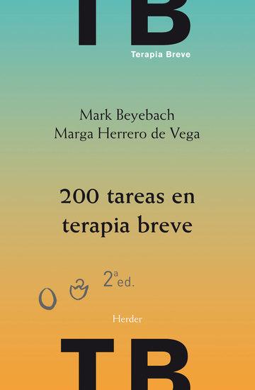 200 tareas en terapia breve - 2ª edición - cover