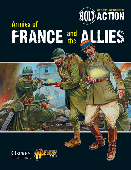 Bolt Action: Armies of France and the Allies - cover