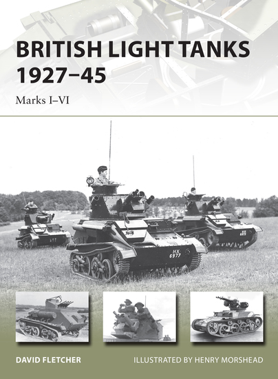 British Light Tanks 1927–45 - Marks I–VI - cover