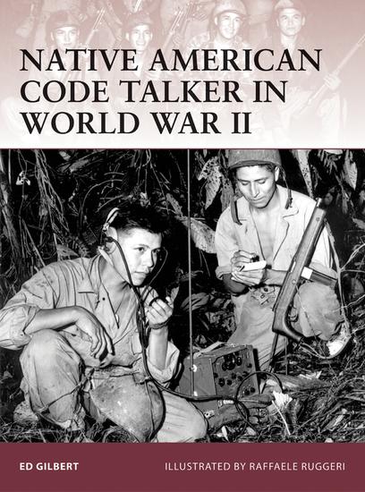 Native American Code Talker in World War II - cover