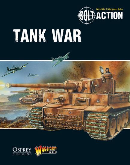 Bolt Action: Tank War - cover
