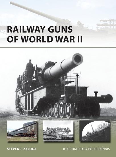 Railway Guns of World War II - cover