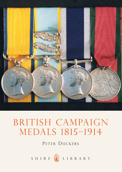 British Campaign Medals 1815-1914 - cover