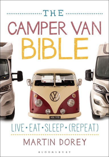 The Camper Van Bible - Live Eat Sleep (Repeat) - cover