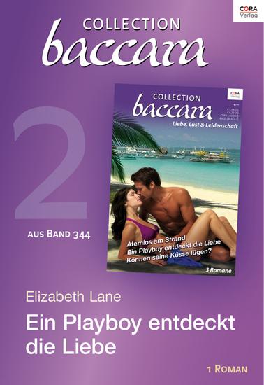Collection Baccara Band 344 - Titel 2: Ein Playboy entdeckt die Liebe - cover