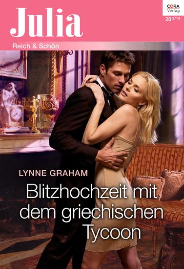 Blitzhochzeit mit dem griechischen Tycoon - cover