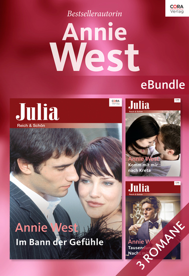 Bestsellerautorin: Annie West - eBundle - cover