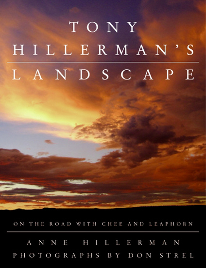 Tony Hillerman's Landscape - On the Road with Chee and Leaphorn - cover