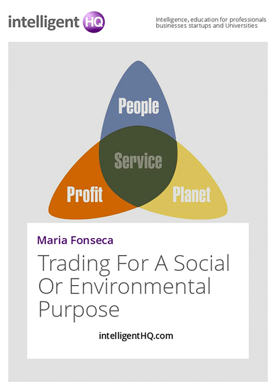 Trading For A Social Or Environmental Purpose - cover