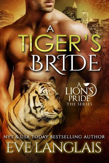 A Tiger's Bride - A Lion's Pride #4 - cover