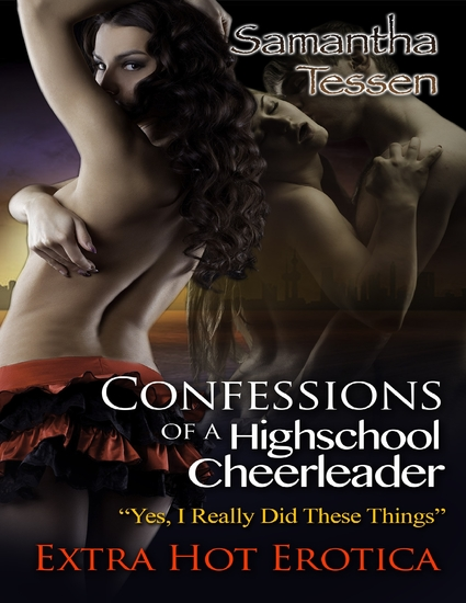 Confessions of a Highschool Cheerleader - cover
