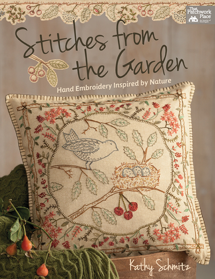 Stitches from the Garden - Hand Embroidery Inspired by Nature - cover