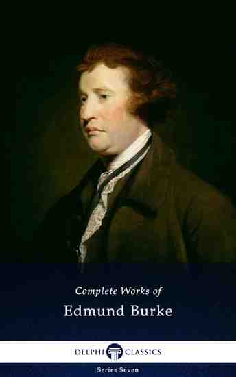 Delphi Complete Works of Edmund Burke (Illustrated) - cover