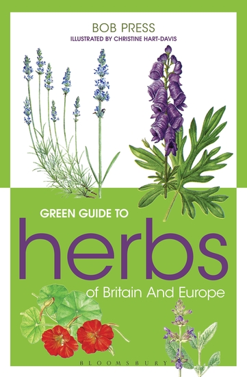 Green Guide to Herbs Of Britain And Europe - cover