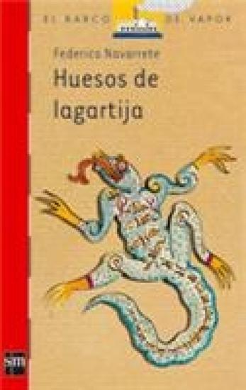 Huesos de lagartija - cover