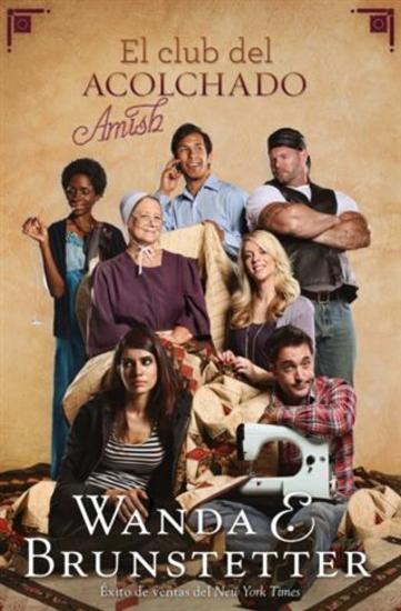 El club del acolchado amish - cover