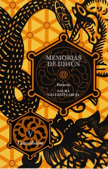 Memorias de Idhún Panteón Libro V: Convulsión - cover
