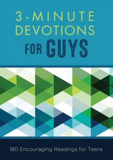 3-Minute Devotions for Guys - 180 Encouraging Readings for Teens - cover