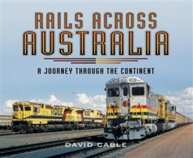 Rails Across Australia - cover