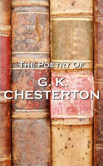 GK Chesterton The Poetry Of - cover